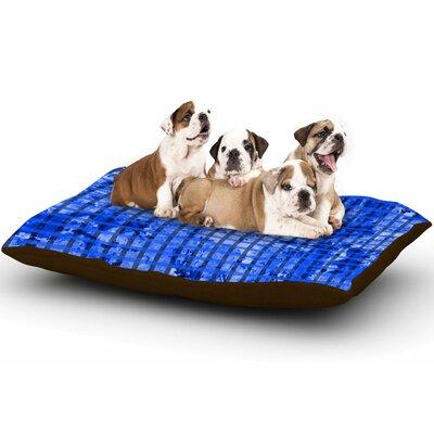 Trebam Plavet Digital Dog Pillow with Fleece Cozy Top