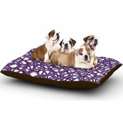 Trebam Vino Digital Dog Pillow with Fleece Cozy Top