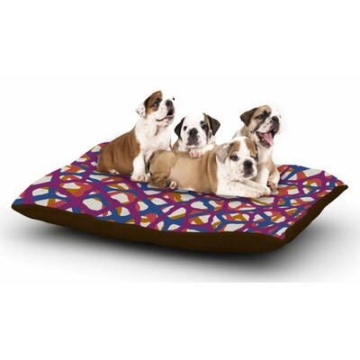 Trebam Staklen Digital Dog Pillow with Fleece Cozy Top