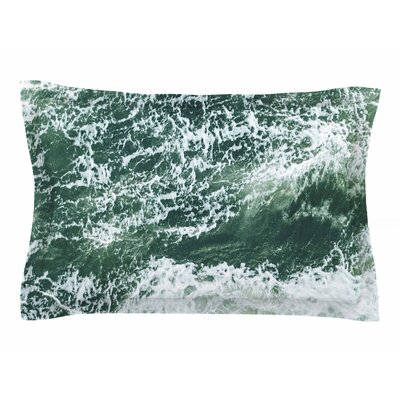 Suzanne Carter Oceans Digital Sham Size: Queen