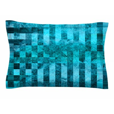 Suzanne Carter Mosaic Ocean Sham Size: King