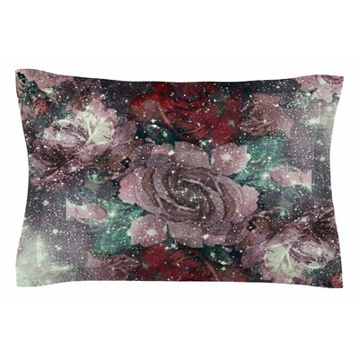 Shirlei Patricia Muniz Love Roses Digital Sham Size: Queen