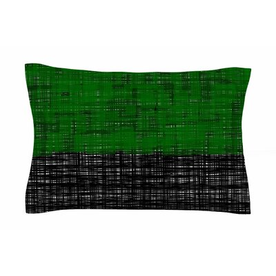Trebam Platno (Green) Digital Sham Size: Queen