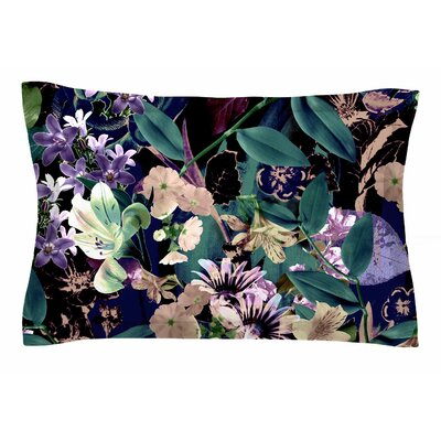 Victoria Krupp Midnight Garden Digital Sham Size: Queen
