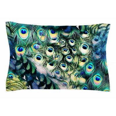 Victoria Krupp Feather Mix Digital Sham Size: Queen