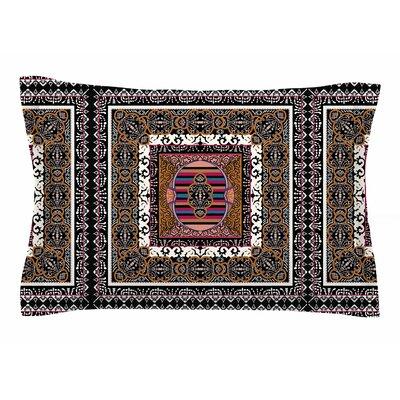 Victoria Krupp Tibet Mandala Illustration Sham Size: Queen