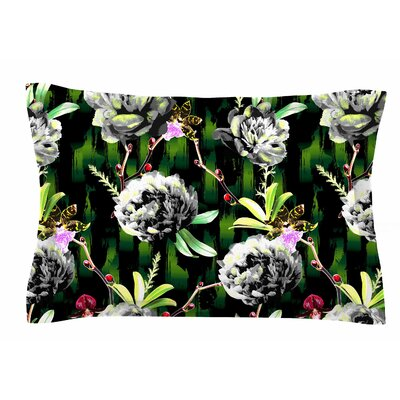 Victoria Krupp Twilight Peonies Digital Sham Size: Queen