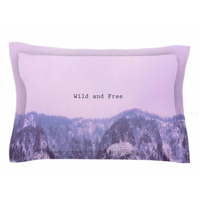 Suzanne Carter Wild and Free Digital Sham Size: Queen