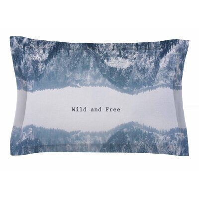 Suzanne Carter Wild and Free Digital Sham Size: King
