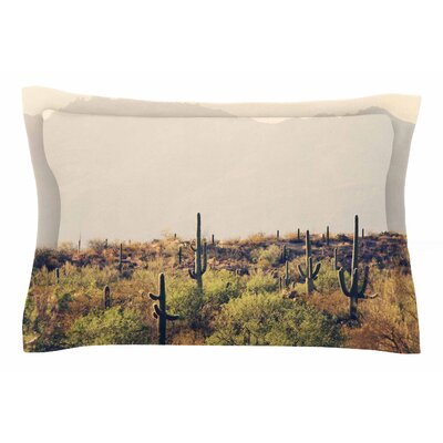 Sylvia Coomes Desert Landscape 5 Photography Sham Size: Queen