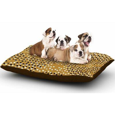 Pom Graphic Design Golden Sky Dog Pillow with Fleece Cozy Top