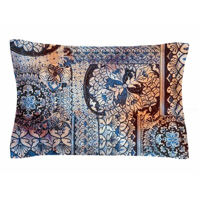 Victoria Krupp Italian Tiles Digital Sham Size: King