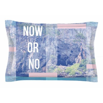 Vasare Nar Now or No Mixed Media Sham Size: King
