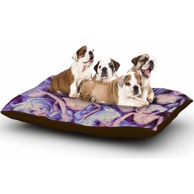 AlyZen Moonshadow Wild Things Barbie Dog Pillow with Fleece Cozy Top