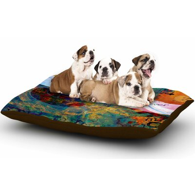 AlyZen Moonshadow Discover 3 Dog Pillow with Fleece Cozy Top