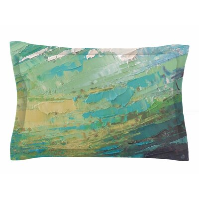 Carol Schiff 'Sea Dance' Painting Sham Size: King
