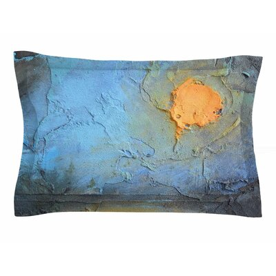 Carol Schiff Moon Glow Mixed Media Sham Size: King