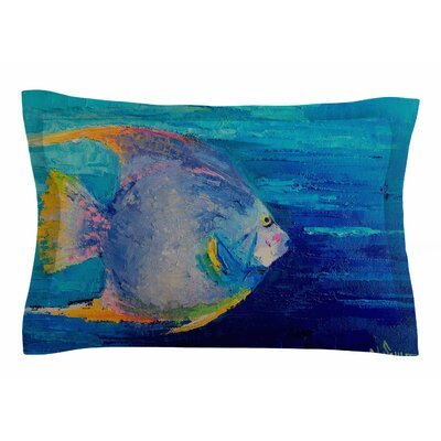 Carol Schiff Tropical Fish II Painting Sham Size: Queen