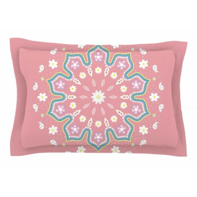 Cristina Bianco Design Mandala II Sham Size: 20 H x 30 W x 1 D