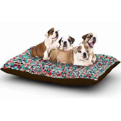 Allison Soupcoff Tart Digital Dog Pillow with Fleece Cozy Top Size: Small (40 W x 30 D x 8 H)