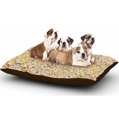 Allison Soupcoff Hint Digital Dog Pillow with Fleece Cozy Top Size: Large (50 W x 40 D x 8 H)