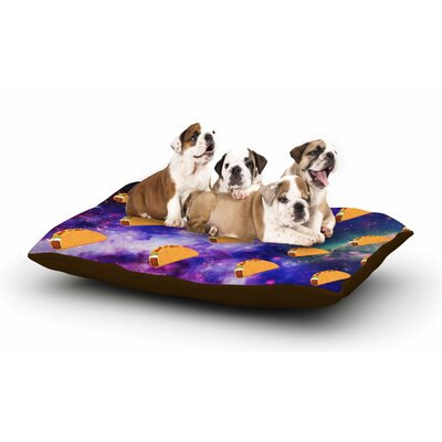 Juan Paolo Taco Galaxy Dog Pillow with Fleece Cozy Top