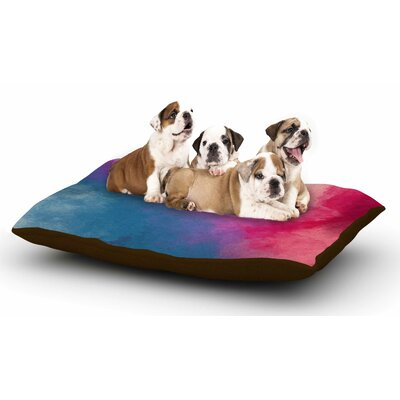 Viviana Gonzalez Abstract 01 Dog Pillow with Fleece Cozy Top