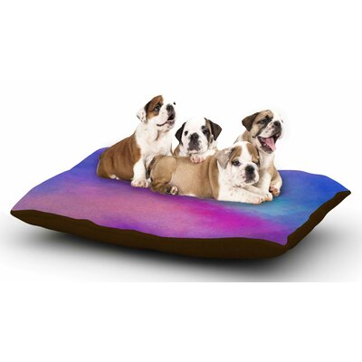 Viviana Gonzalez Abstract 02 Dog Pillow with Fleece Cozy Top