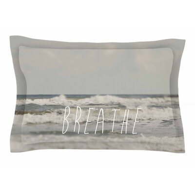 Cristina Mitchell Breathe Floral Photography Sham Size: King