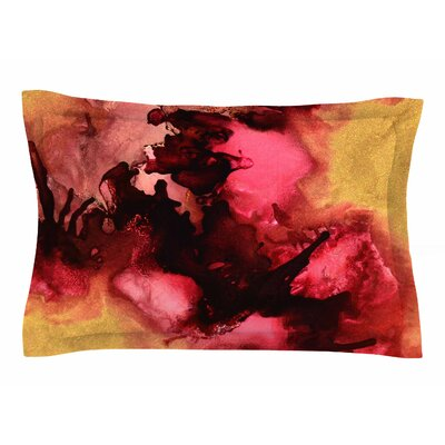 Claire Day Eloquent Abstract Painting Sham Size: King