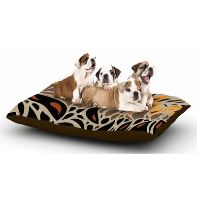 Viviana Gonzalez Africa - Abstract I Dog Pillow with Fleece Cozy Top