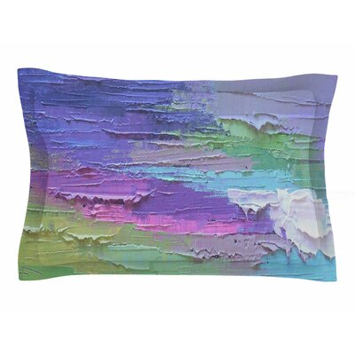 Carol Schiff Four Seasons - Spring Painting Sham Size: Queen
