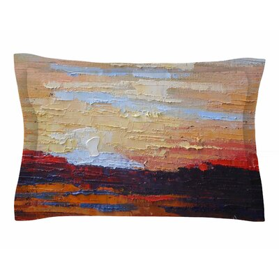Carol Schiff On the Rise Painting Sham Size: Queen
