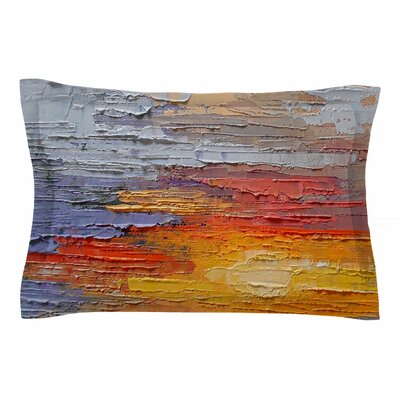 Carol Schiff Dreamy Sky Painting Sham Size: Queen