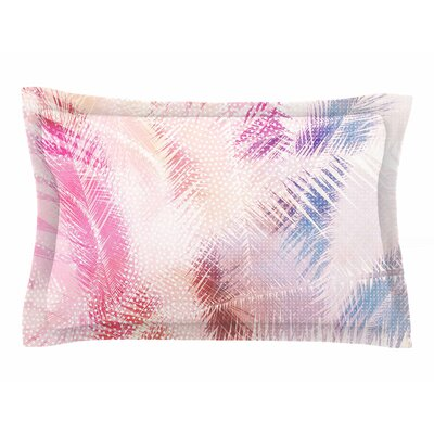 Cafelab Sweet Tropical Abstract Sham Size: Queen