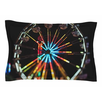 Chelsea Victoria Night Lights Photography Sham Size: King