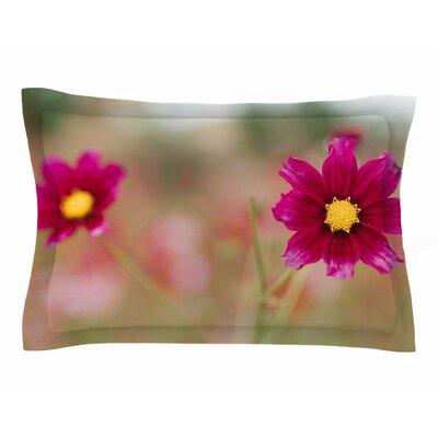 Chelsea Victoria Wild for You Floral Photography Sham Size: 20 H x 30 W x 1 D