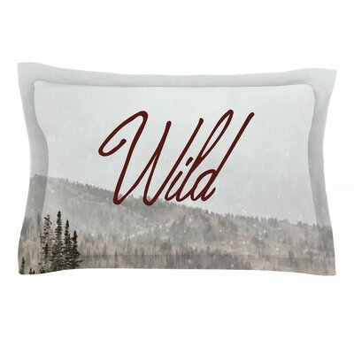 Chelsea Victoria Winter Wild Photography Sham Size: Queen