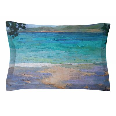 Carol Schiff Caribbean Dream Painting Sham Size: Queen