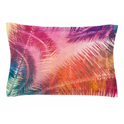 Cafelab Pop Tropical Abstract Sham Size: Queen