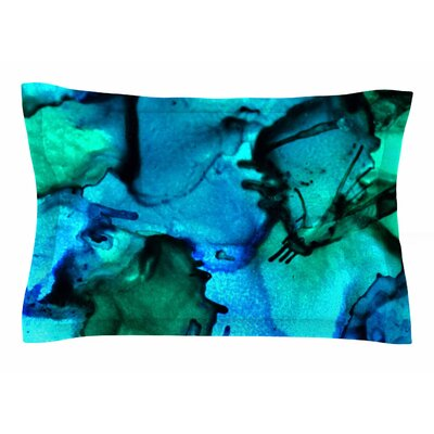 Claire Day Tidal Waves Painting Sham Size: Queen
