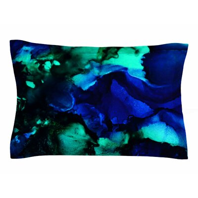Claire Day Neptune Painting Sham Size: Queen