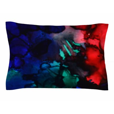 Claire Day Harmony Abstract Painting Sham Size: King