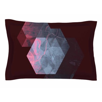 Cafelab Dramatic Geometry Sham Size: Queen
