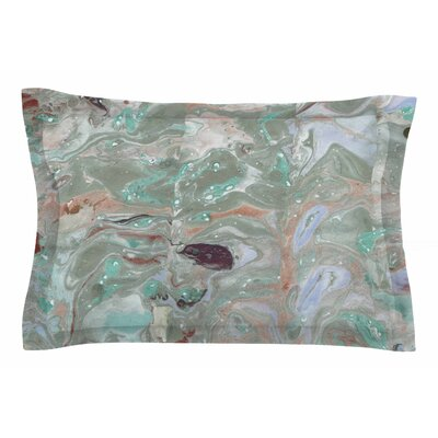 Danii Pollehn Nude Marble Watercolor Sham Size: Queen