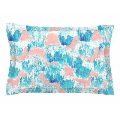 Danii Pollehn Mermaid Skin Painting Sham Size: Queen