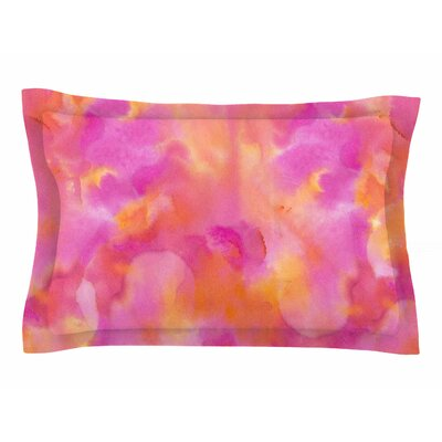 Danii Pollehn Color Explosion Watercolor Sham Size: Queen