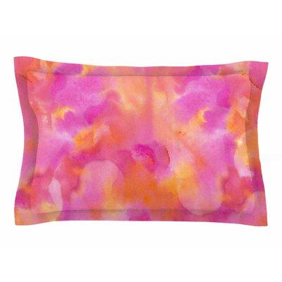 Danii Pollehn Color Explosion Watercolor Sham Size: 20 H x 40 W x 0.25 D