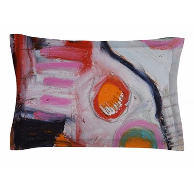 Jeff Ferst Bold New Day Painting Sham Size: Queen