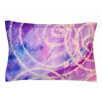 Liz Perez Vortex Watercolor Sham Size: Queen